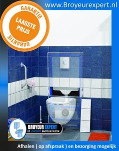 Sanibroyeur saniwall Pro UP  met Glazen  broyeurexpert laagste prijs
