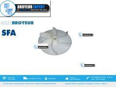 lamel  / propeller voor een Sanibroyeur / vuilwaterpomp