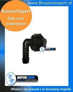 Sanibroyeur ENTROC43  spoelwaterinlaat