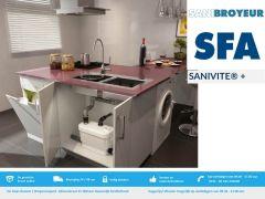 Sanibroyeur Sanivite + nieuwste model