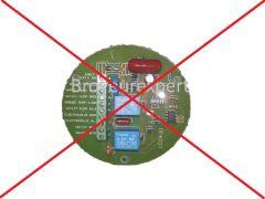 Printplaat 100430 voor WC BROYEUR ''oud model'' / Sanidigi